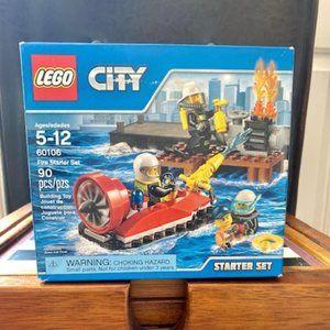 LEGO CITY Fire Starter Set 60106 Retired Product